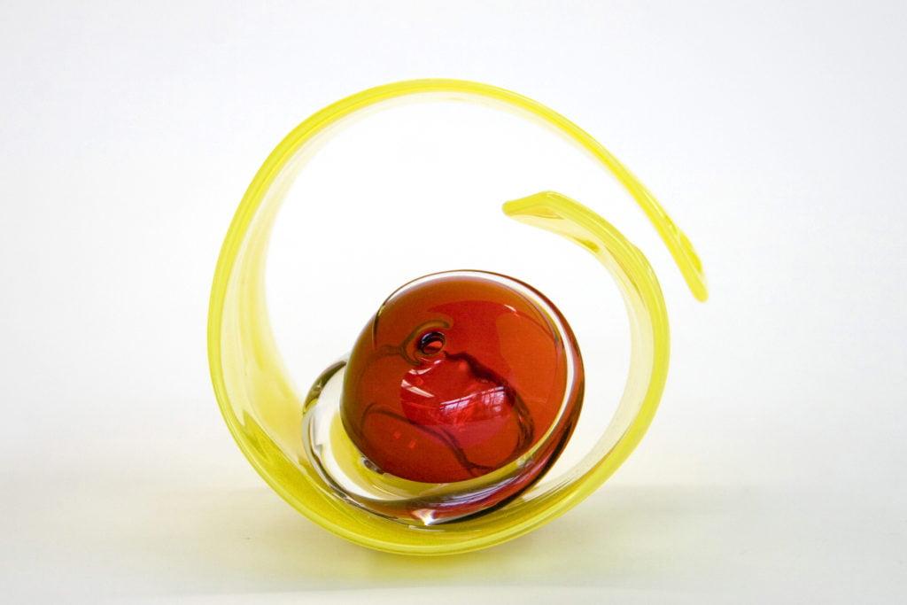 Lemon Que with Copper Ruby Pea